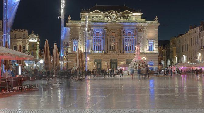 Sortie nocturne à Montpellier
